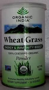 Buy 2 Pack Organic India Wheat Grass 100gms (Total 200 gms) online for USD 23 at alldesineeds