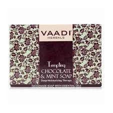 Buy 6 Pack Vaadi TEMPTING CHOCOLATE & MINT SOAP 75 gms each online for USD 14.9 at alldesineeds