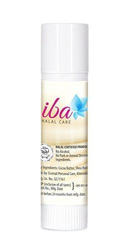 Buy Pack of 3 Iba Halal Care PureLips Moisturising Balm, Cocoa Vanilla, 4.2gms each online for USD 13.45 at alldesineeds