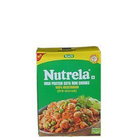 Buy 2 x Nutrela High Protein Soya Mini Chunks 200 gm each (Total 400 gms) online for USD 12.87 at alldesineeds