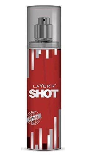Buy 2 X Layer'r Shot Deodrant, Red Stallion, 135ml -(Pack of 2) online for USD 24.74 at alldesineeds