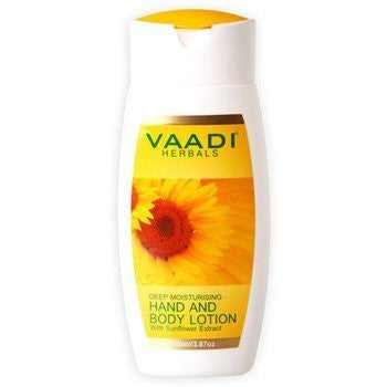 Buy Vaadi Herbals Deep Moisturising Hand & Body Lotion 3x110ml online for USD 15.83 at alldesineeds