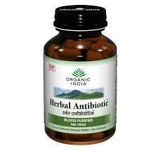 Buy 5 Pack Organic India Herbal Antibiotic 60 Capsules Bottle (Total 300 Capsules) online for USD 47.08 at alldesineeds