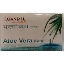 Buy 5 Pack Divya Kanti Aloevera soaps 75gms (Total 375 gms) online for USD 18.5 at alldesineeds