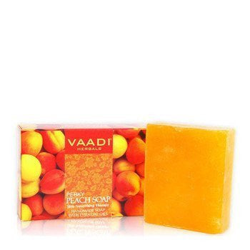 Buy 6 Pack PERKY PEACH SOAP with Almond Oil 75 gms each (Total 450 gms) online for USD 17.85 at alldesineeds