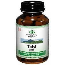 Buy 3 Pack Organic Tulsi 60 Capsules Bottle (Total 180 Capsules) online for USD 27.77 at alldesineeds