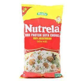 Buy 2 x Nutrela Soya - Chunks 200 gms each (Total 400 gms) online for USD 12.87 at alldesineeds