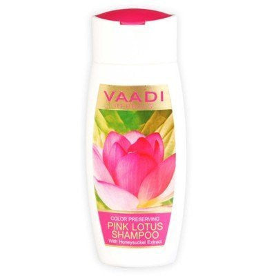 Buy 4 Pack PINK LOTUS SHAMPOO with Honeysuckle Extract - Color Preserving 110 ml online for USD 20.65 at alldesineeds