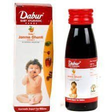 3 x Dabur Janma Ghunti 60 ML each - alldesineeds