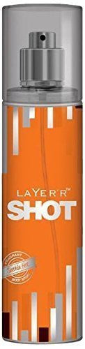 Buy 2 X Layer'r Shot Deodrant, Smokin Hot, 135ml - (Pack of 2) online for USD 24.74 at alldesineeds
