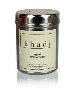 Buy Khadi Organic Pure Amla hair Powder 150 gm online for USD 12 at alldesineeds