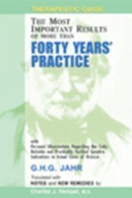 Buy Therapeutic Guide: Forty Years Practice [Hardcover] [Jun 30, 1999] Jahr, online for USD 13.36 at alldesineeds