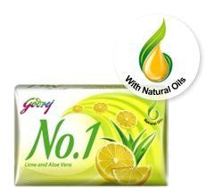 Buy Godrej No. 1 Lime and Aloe Vera Soap 115gram online for USD 9.87 at alldesineeds