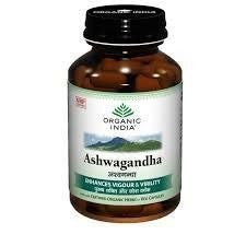 Buy 4 Pack Organic Ashwagandha 60 Capsules Bottle (Total 240 Capsules) online for USD 36.09 at alldesineeds