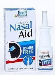 2 pack of Nasal Aid Nasal Spray (10 ml each) - Baksons Homeopathy - alldesineeds