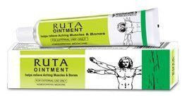 Ruta Ointment for Muscle Pain 25 gms each- Baksons Homeopathy - alldesineeds