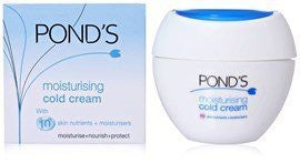 2 x Ponds Cold Cream - Moisturising 100 ml (Total 200 ml) - alldesineeds