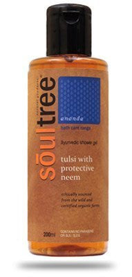 Buy Soul Tree Tulsi and Neem Shower Gel, 200ml online for USD 14.2 at alldesineeds