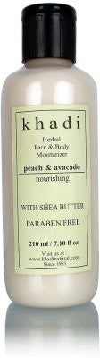 Buy 2 X Khadi Peach Avacado Moisturizer Lotion, 210ml each online for USD 37.66 at alldesineeds