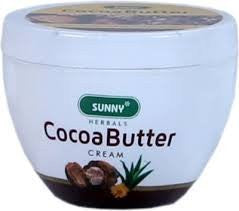 5 pack of Sunny Herbals Cocoa Butter Cream - Baksons Homeopathy - alldesineeds