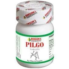 2 pack of Pilgo Tablet Relieves Piles & Fissures (Total 200 tablets) - Bakson... - alldesineeds