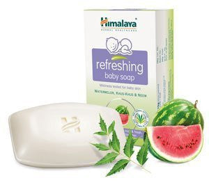 Buy 2 pack X Himalaya refreshing baby soap 125gms each online for USD 10.2 at alldesineeds
