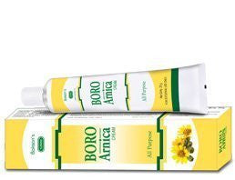 BAKSONS Sunny Herbals 4 x Boro Arnica Cream (4 x 25 gm each) - alldesineeds