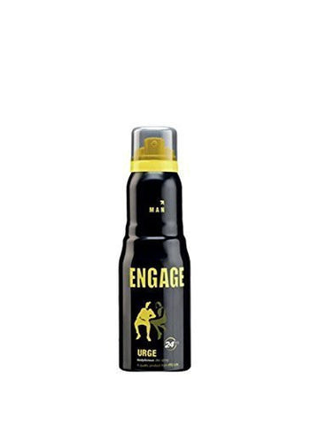 Buy Pack of 3 Engage Man Deodorant Urge, 150ml each (Total 450 ml) online for USD 28.54 at alldesineeds