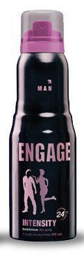 Buy 2 x Engage New Metal Range for Men, Itensity, 150ml each online for USD 19.36 at alldesineeds