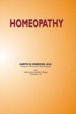 Buy Homeopathy [Jul 30, 2008] Boericke, Garth online for USD 7.38 at alldesineeds