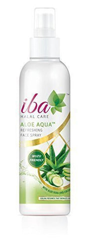 Buy Pack of 2 Iba Halal Care Aloe Aqua Refreshing Face Spray, 100ml each online for USD 13.45 at alldesineeds