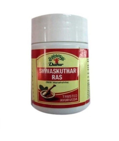 Dabur Shwaskuthar Ras 40tablets combo of 5 packs - alldesineeds