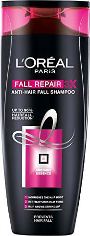 Buy L'Oreal Paris Fall Resist 3X Anti-hair Fall Shampoo, 360ml online for USD 15.43 at alldesineeds