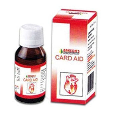 2 pack of Card Aid Drops Heart Toner - Baksons Homeopathy - alldesineeds