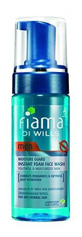 Buy 3 x Fiama Di Wills Men Detoxify and Skin Restore Foaming Face Wash 150 ml each online for USD 21.34 at alldesineeds