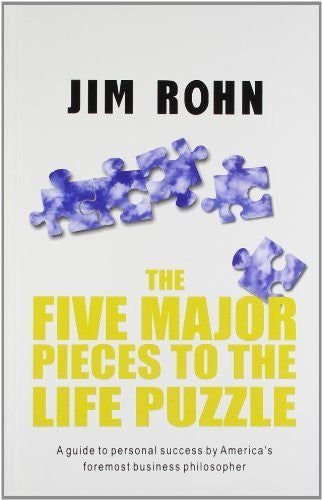 Buy Five Major Pieces to the Life Puzzle [Dec 01, 2011] Rohn, Jim online for USD 14.73 at alldesineeds
