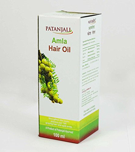 Buy 2 Pack Patanjali Amla Hair Oil 100 Ml each online for USD 12.8 at alldesineeds