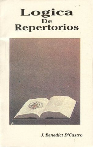 Buy Logica de Repertorios (Spanish Edition) [Dec 01, 2001] D'Castro, J. Benedict online for USD 12.43 at alldesineeds