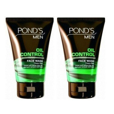 2X Pond's OIL CONTROL Face Wash For Acne Clear Bright & Fresh Skin 50g