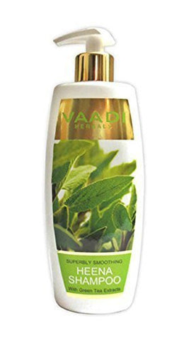 Buy 4 Pack Vaadi Superbly Smoothing HEENA SHAMPOO 110 ml each online for USD 15.99 at alldesineeds