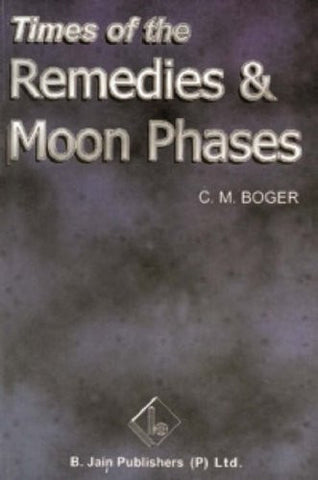 Buy Times of Remedies and Moon Phases [Aug 15, 2003] C.M. Boger online for USD 8.84 at alldesineeds