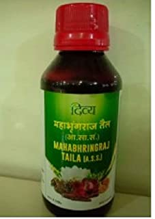 2 x Patanjali Divya Mahabhringraj Hair Oil - 100ml