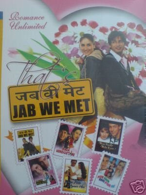 Buy Romance Unlimited: Pack of Six Movies (Jab We Met/Raja Hindustani/Hum Apke Hai Kaun/Maine Pyar Kiya/ Kaho Na Pyar Hai/Hum Hain Rahi Pyaar Ke) online for USD 15.19 at alldesineeds
