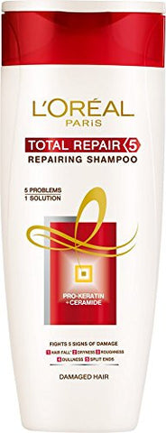 Buy L'Oreal Paris Hair Expertise Total Repair 5 Shampoo, 75ml(pack 3) online for USD 10.82 at alldesineeds