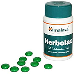 10 Pack of Himalaya Herbolax Tablets - 100 Count