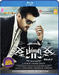 Buy Billa II: The Beginning BLURAY: TAMIL DVD online for USD 11.25 at alldesineeds