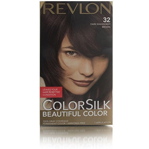 Buy Revlon Colorsilk Haircolor 32 Mahogany Brown 3 Rb By Revlon, 100g online for USD 19.85 at alldesineeds