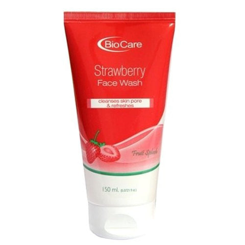 Biocare STRAWBERRY Face Wash - 150ml - alldesineeds