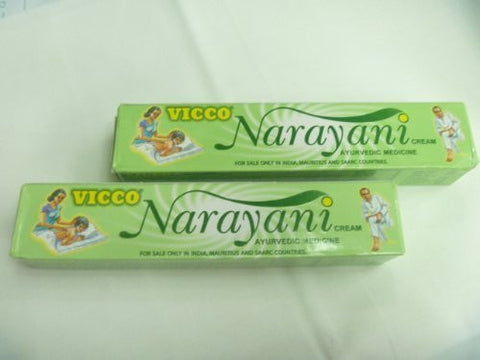 Buy 2 X Vicco Narayani Ayurvedic Herbal Pain Relief Cream 30g X 2 = 60gm online for USD 10.94 at alldesineeds