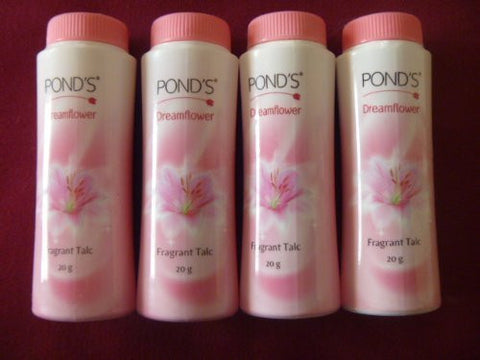 Buy 4 X Ponds Dreamflower Magic Face Talcum Powder Skin Brightening Talc 20g online for USD 7.92 at alldesineeds